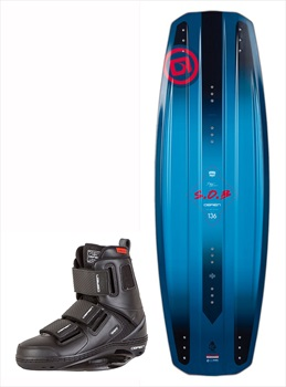O'Brien SOB | GTX Wakeboard Package, 136|11-13 Blue Red