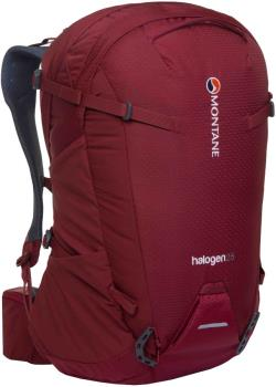 Montane Halogen Mountain Climbing Backpack, 25L S/M Redwood