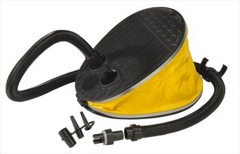 Jobe Foot Pump, 2000cc Yellow