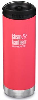 Klean Kanteen Insulated TKWide Cafe Cap Water Bottle, 473ml Melon