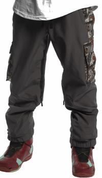 Brethren Apparel Joggers Softshell Ski/Snowboard Pants M Forest Camo
