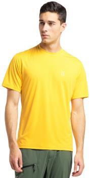 Haglofs Ridge Tee Quick Drying T-Shirt, M Pumpkin Yellow
