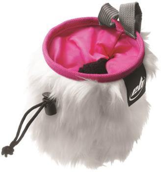 EB Rabbit Fluffy Chalk Bag, 12cm x 16cm Pink