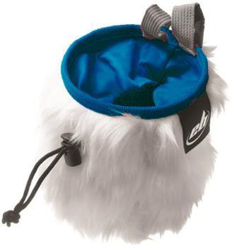 EB Rabbit Fluffy Chalk Bag, 12cm x 16cm Blue