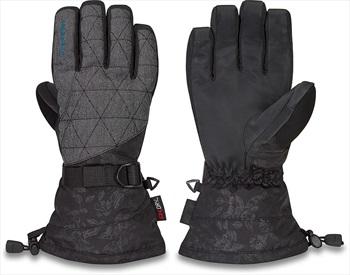 Dakine Camino DK Dry Women's Snowboard/Ski Gloves, S Azalea