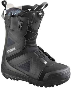 Salomon Hi Fi Mens Snowboard Boot, UK 9 Black/Castlerock 2020