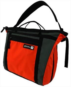 Metolius Gym Messenger Rock Climbing Rope Bag, 28L Orange/Black
