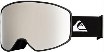 Quiksilver Storm Mirror Ski/Snowboard Goggles M/L Black Ex-Display