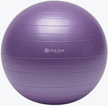 Gaiam Total Body Balance Ball Kit, S Purple
