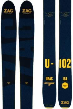ZAG Ubac 102 Ski Only Skis Only, 176cm Blue/Yellow