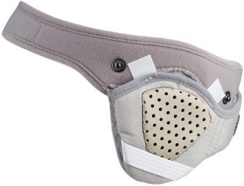 Bern Women's Winter Zip Mold & BOA Adjuster Helmet Liner, M Grey