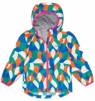 Muddy Puddles Ecolight Kids Waterproof Jacket, 3-4yrs Multi Abstract