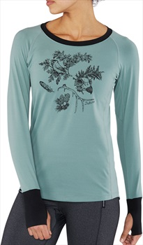 Dakine Lupine Lightweight Women's Long Sleeve T-Shirt, L Coastal