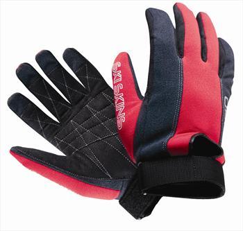 O'Brien Ski Skin Water Ski Gloves XX Small Black / Red
