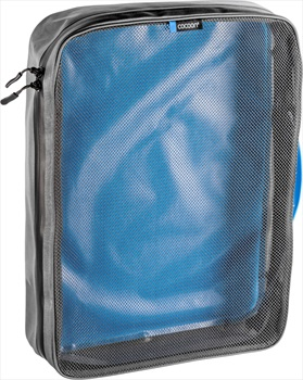 Cocoon Packing Cube With Open Net Top Travel Organiser, XL Blue