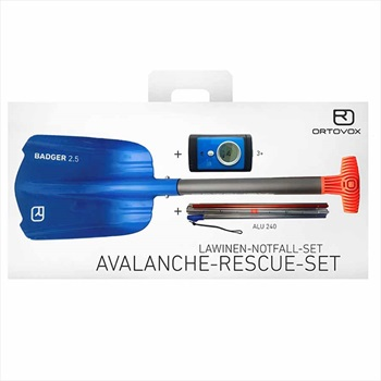 Ortovox 3+ / Badger 2.5 / Alu 240 Avalanche Safety Package