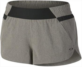 Oakley Elevate Sportswear Shorts, L Athletic Heather Grey