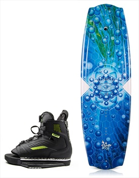 Liquid Force Trip | Unit Wakeboard Package, 135 | 6.5-9.5 Blue