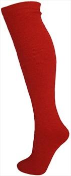 Manbi Essential Thermal Ski/Snowboard Tube Socks UK 4-11 Red