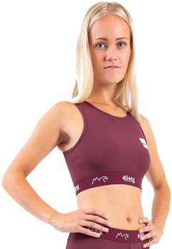 Eivy Cover Up Women's Sports Bra, M Wine