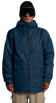 Volcom Deadly Stones Ski/Snowboard Jacket, Xl Blue