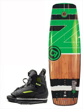 O'Brien Fade | Unit Crossover Wakeboard Package, 143 | 6.5-9.5 Green