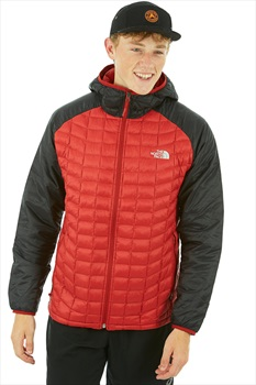 The North Face Thermoball Sport Hoodie Insulated Jacket S Cardinal Red