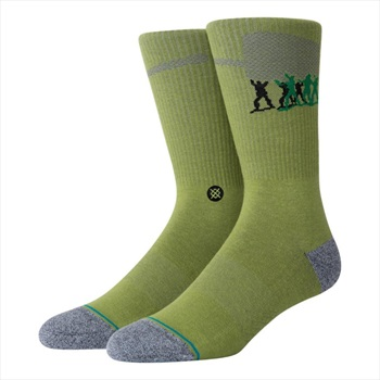 Stance Adult Unisex Pixar Army Men Crew Skate Socks, M Green