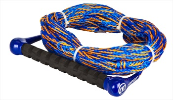 O'Brien Waterski Handle Rope Combo, 1 Section Blue Orange