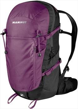 Mammut Lithium Zip Hiking Backpack/Rucksack, 24L Galaxy Black