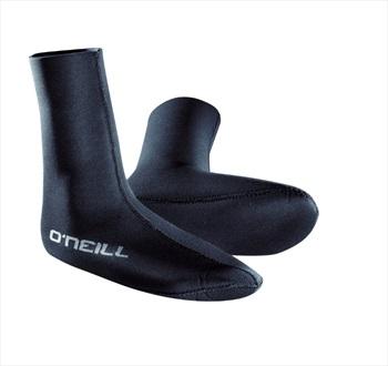 O'Neill Wetsuits 3mm HEAT Single Lined Neoprene Sock, XL