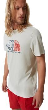 The North Face Rust 2 Cotton T-Shirt, L Vintage White