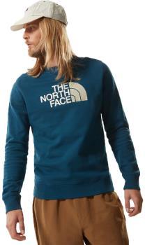The North Face Drew Peak Crew Neck Pullover Sweater, L Monterey Blue