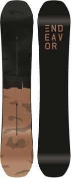 Endeavor Ranger Hybrid Camber Snowboard, 144cm 2019