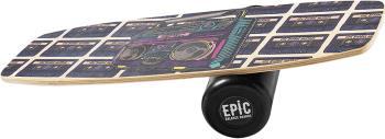 EPIC Balance Boards Retro Core Strength Balance Trainer, Boombox