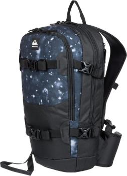 Quiksilver Adult Unisex Oxydized Ski/Snowboard Backpack, 16l True Black Woolflakes