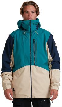 Quiksilver Travis Rice Tr Stretch Ski/Snowboard Jacket, M Everglade
