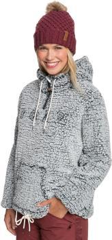 Roxy Pluma Sherpa Women's Snowboard/Ski Fleece, S True Black