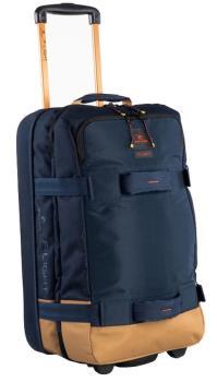 Ripcurl F-Light Transit Hyke Wheeled Bag/Suitcase, 50L Navy