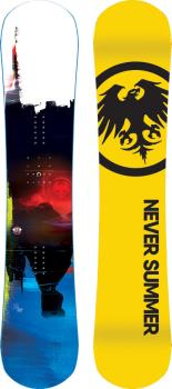 Never Summer Proto Ultra Hybrid Camber Snowboard, 154cm