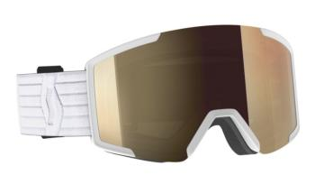 Scott Shield Bronze Chrome Snowboard / Ski Goggles, L White 2021