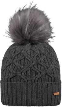 Barts Haliana Ski/Snowboard Bobble Hat, One Size Dark Heather
