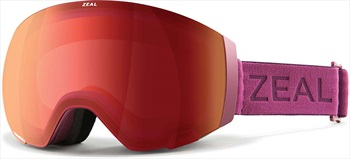 Zeal Portal Automatic RB Snowboard/Ski Goggles, M Plum