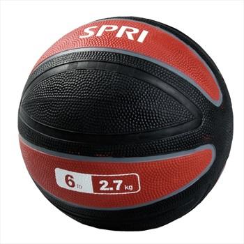 SPRI Xerball Medicine Ball, 2.7 KG Red