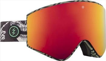 Electric EGX Brose Red Snowboard/Ski Goggles, L Torgler Gregg