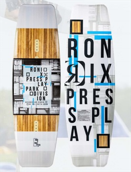 Ronix Press Play Park Wakeboard, 144 White Multi 2021