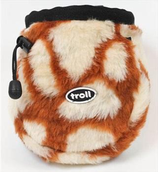 Troll Furry Rock Climbing Chalk Bag, Giraffe
