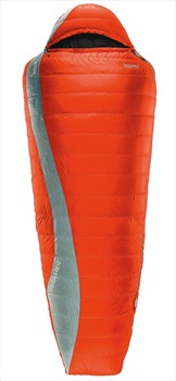 ThermaRest Antares 15 HD Lightweight Down Sleeping Bag Long, Chili