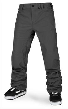 Volcom Adult Unisex Freakin Snow Chino Snowboard/Ski Pants, S Dark Grey