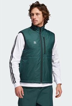 Adidas Meade Pro Reversible Gilet/Vest, L Blue/Green